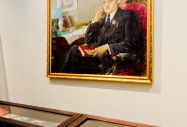 Портрет татарского писателя Шарифа Камала
